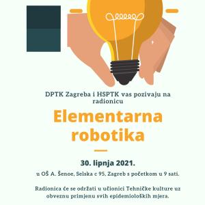 DPTK Zagreba i HSPTK vas pozivaju na radionicu